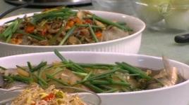 Рыба и мясо с овощами корейский рецепт