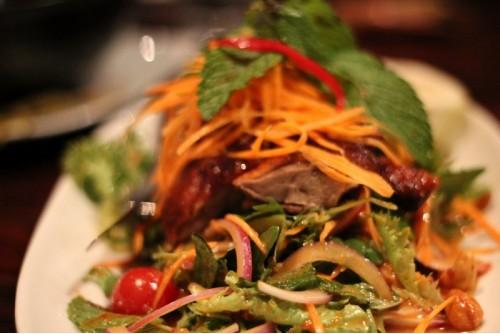 Утка по-тайски для романтического ужина