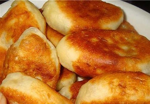 рецепт пирожков з фасолью в духовки