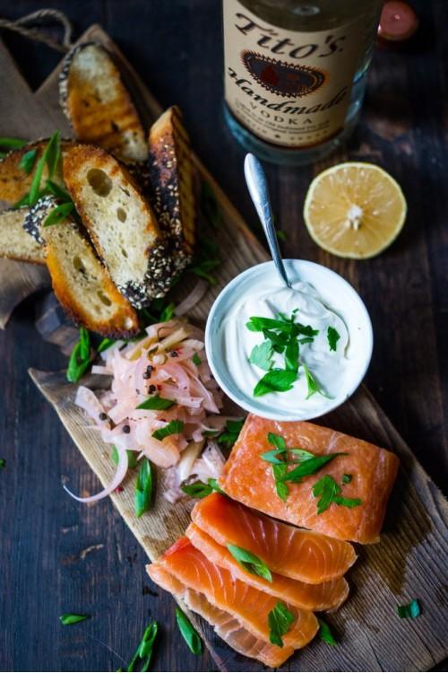 Малосольный лосось рецепт