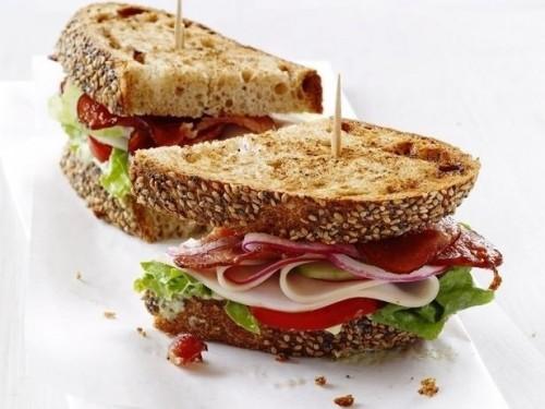 Рецепт сэндвичей с авокадо и индейкой