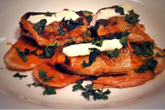Рыба по-гуцульски