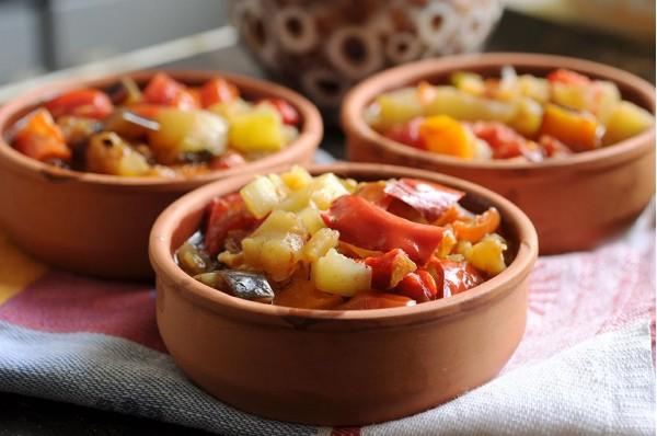 Болгарский Гювеч из овощей