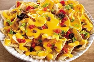 Рецепт начос с сыром