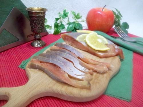 Рецепт малосольной горбуши