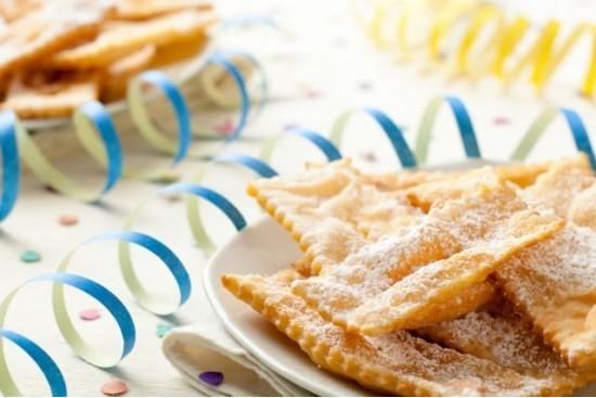 Итальянское карнавальное печенье Кьяккере