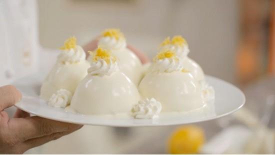 Рецепт итальянского десерта Лимонный Восторг