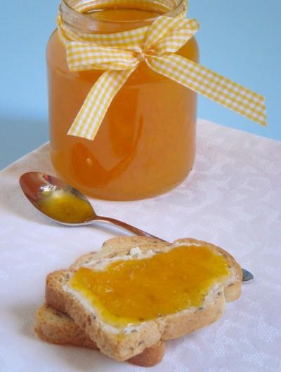 Абрикосовый джем с лимоном и корицей