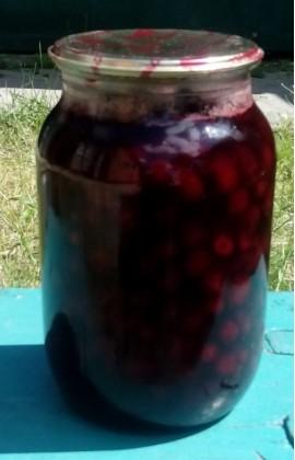 Рецепт варенья из вишни