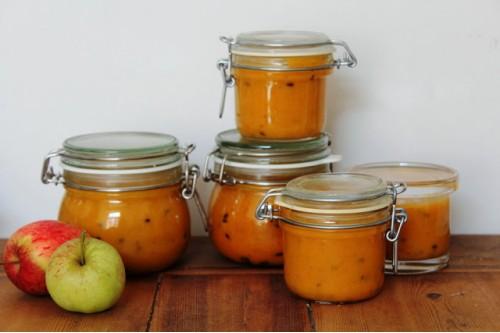 Рецепт варенья из яблок и облепихи с корицей
