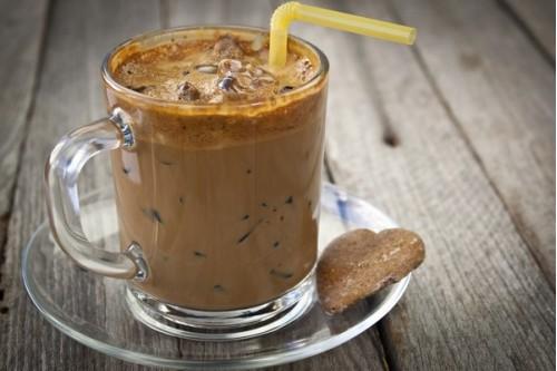 Кофе медовый охлажденный