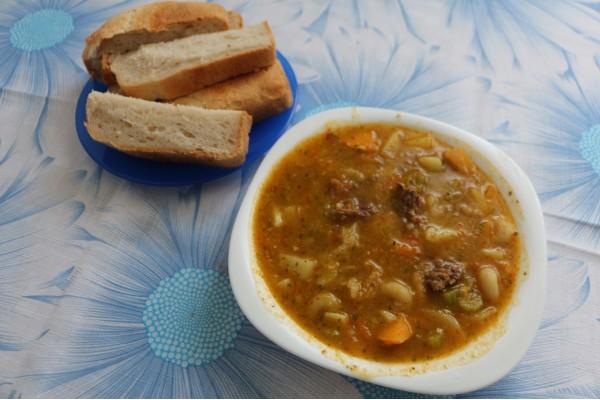 Тыквенный суп Джумо