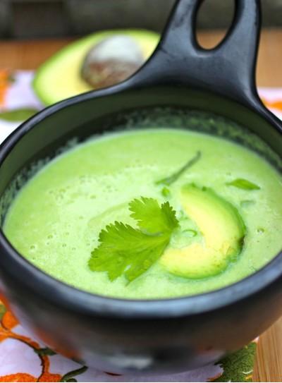 Колумбийский крем-суп из авокадо