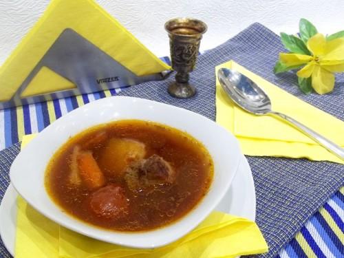 Томатный суп по-деревенски