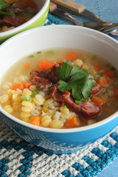 Традиционный эстонский гороховый суп