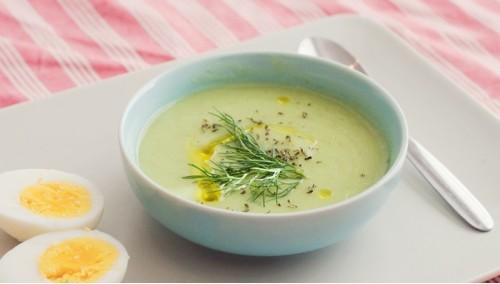 Сливочный суп-пюре из корня сельдерея