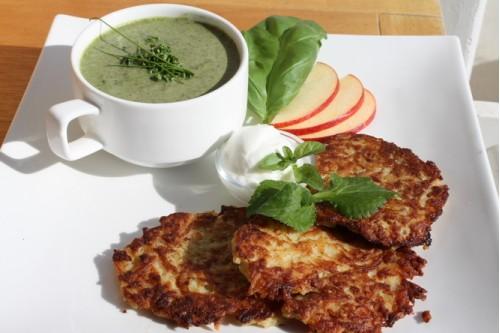 Рецепт зелёного супа-пюре