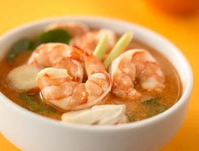Таиландский суп том ям