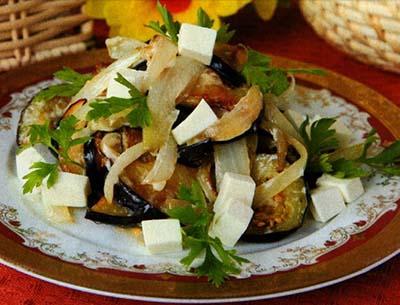 Салат Тбилиси с красной фасолью и говядиной