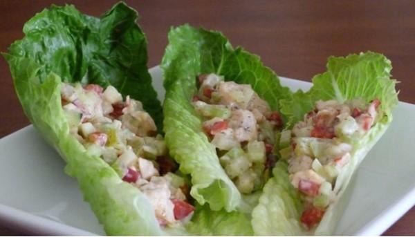 Канадский рыбный салат