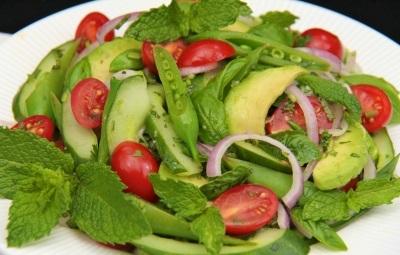 Тайский салат с авокадо рецепт