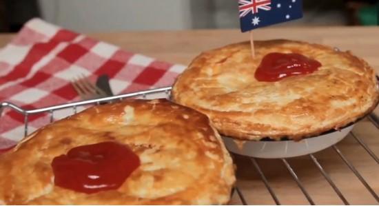 Австралийский мясной пирог