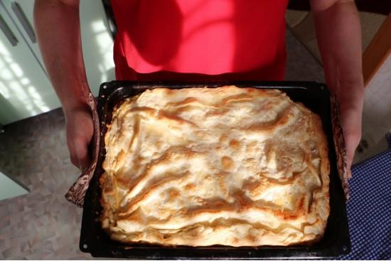 Грузинский пирог ачма