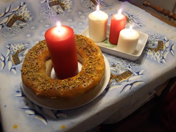 Сицилийский рождественский пирог буччеллато