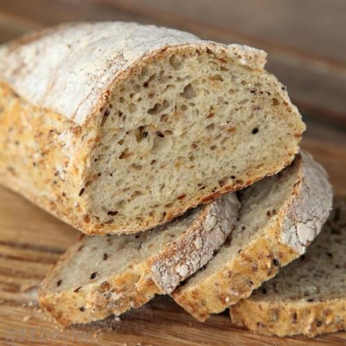 Рецепт хлеба с кунжутом