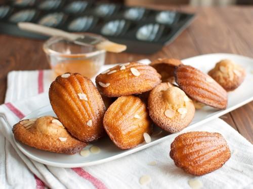 Французское печенье мадлен фото
